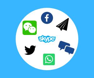 Plataformas mensajerías